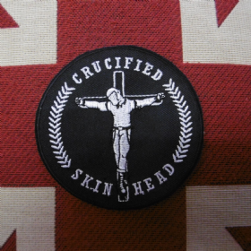 Skinhead Crucifixion Male Patch
